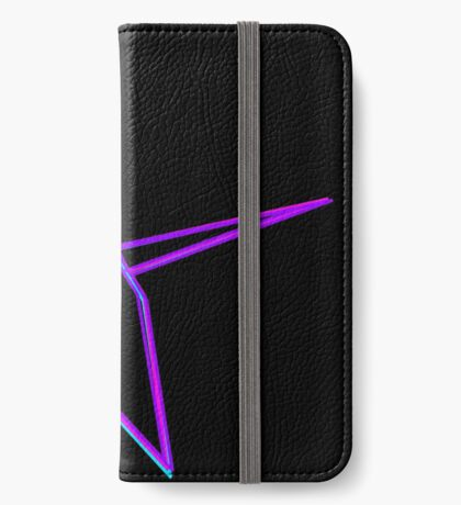 Origami Crane Neon Colors iPhone Wallet