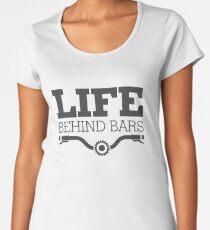 Life Behind Bars Shirt Funny Motorcycle Lover Shirt Women's Premium T-Shirt