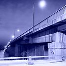 Point Douglas Bridge by Geoffrey