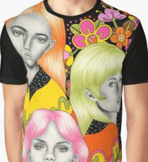Psychedelic Babes Graphic T-Shirt
