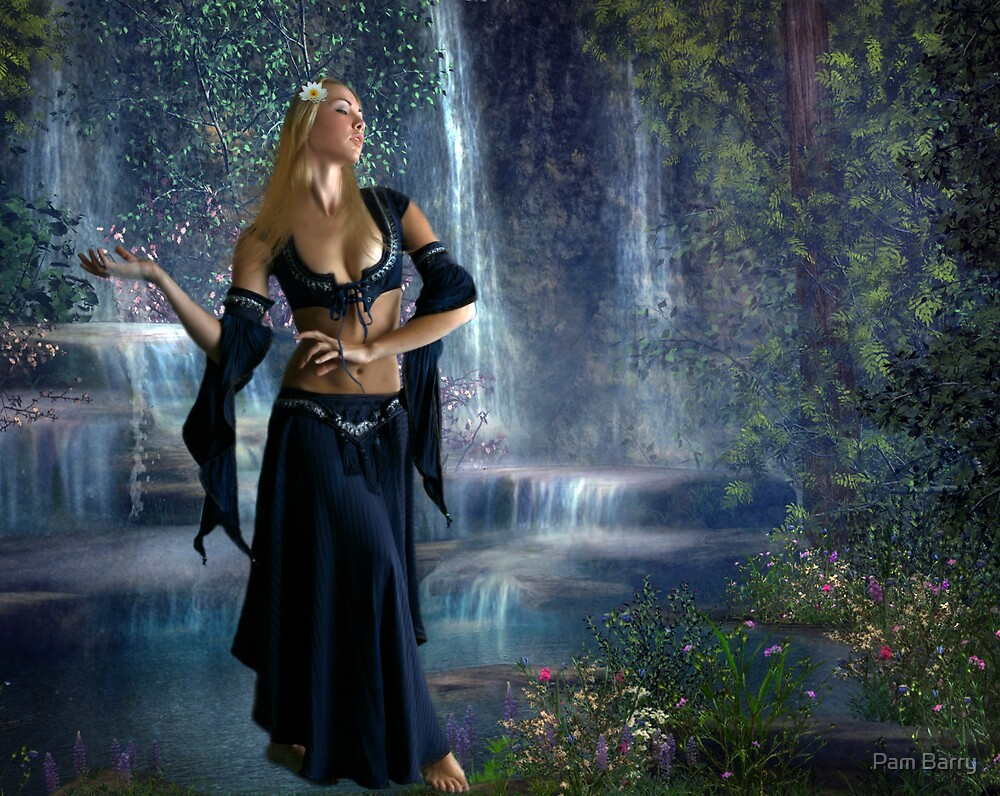 Quot Water Goddess Quot By Pam Barry Redbubble