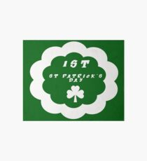 My First St. Patrick's Day Outfit - Girls St. Patrick's Outfit - My First St. Patrick's Day - Headband  Art Board