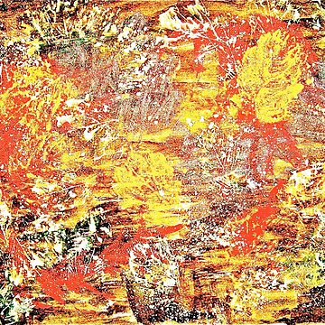Golden Autumn abstract by GittaG74