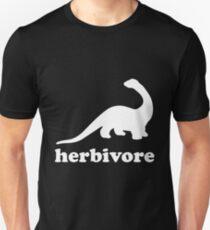 Dinosaurier Vegetarier Unisex T-Shirt