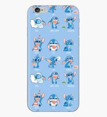 Stitch emoticon!  iPhone Case