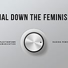 Dial Down the Feminism (American English) by Alex Bertulis-Fernandes