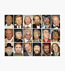 Whos Who Photographic Print