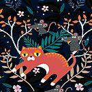 «Sleepy Red Munchkin» de craftipixel