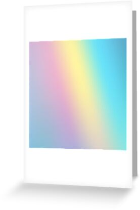 Holographic Iridescent Aesthetic Background Greeting Cards By Adele