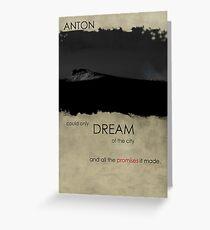 Anton  Greeting Card
