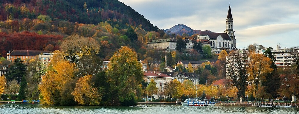 Annecy - Autumn colors on the city by Patrick Morand