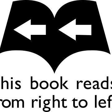 This Book Reads from Right to Left by AdnyWest