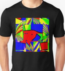 Bright and colorful: blue, red, green etc. Unisex T-Shirt