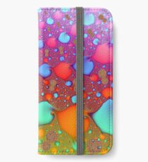 Colorful Background Pattern iPhone Wallet/Case/Skin