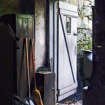 Back Door of Shop by SudaP0408