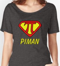 Original Pi superheroes for Holiday Father's Day Women's Relaxed Fit T-Shirt