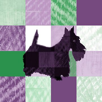 scottie goes green and purple by veerapfaffli