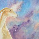 Dog Nebula, Galgo, Greyhound by cjwaterfield