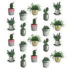 House Plants by teekastreasures