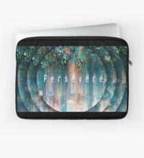 Persevere digital art print Laptop Sleeve