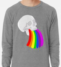 Rainbow Vomit Lightweight Sweatshirt