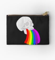 Rainbow Vomit Zipper Pouch
