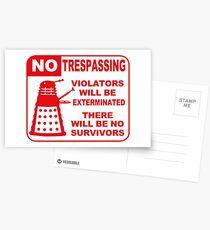 Signs of Danger! Postkarten