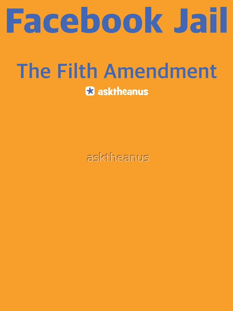 Facebook Jail - the Filth Amendment by asktheanus