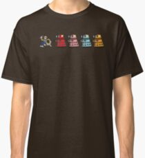 Doctor Who stuck in pac man Classic T-Shirt