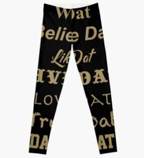 Who Dat Nation  Leggings