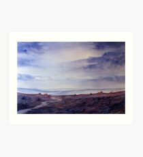 Full Circle - Twilight on the Moors Art Print