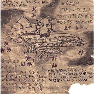 Book of Nightmares Sky Serpent by RowynGolde