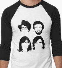 The IT Crowd hair Men's Baseball ¾ T-Shirt