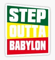 STEP OUTTA BABYLON Sticker
