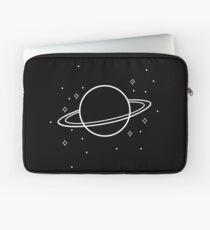 Minimalismus Planet - Grafikdesign Laptoptasche