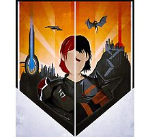 The Shepard and The Hawke Photographic Print