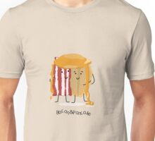 Bacon and Pancake = best friends Unisex T-Shirt