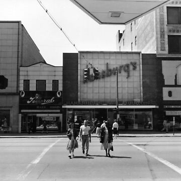 West Federal Street Scene – Youngstown, Ohio – 1960s by MetroStore