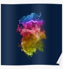 Póster Nubes coloridas