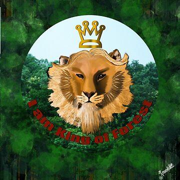 King of Forest  by Nandika-Dutt