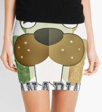 Part Irish Canadian Beaver Shamrock Mini Skirt