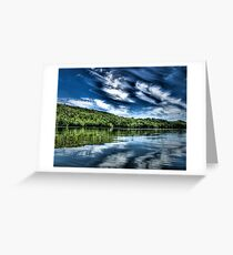 """Bigstone Lake"" Greeting Card"