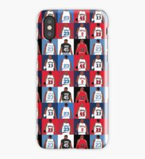 Michael Jordan Grid iPhone Case