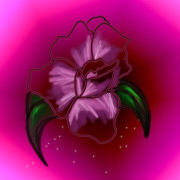 Rose Lady Flower by Nandika-Dutt