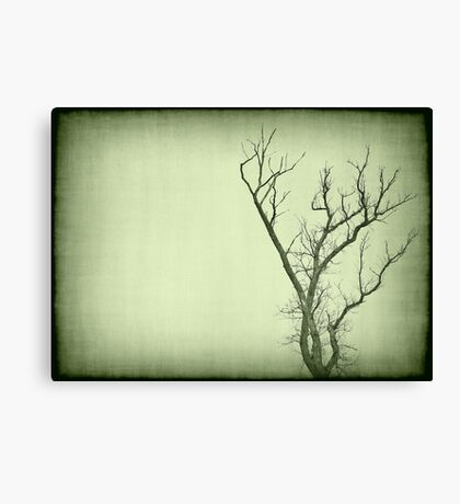 Waiting time Canvas Print