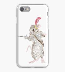 Narnia Reepicheep, the bravest of mice iPhone Case/Skin