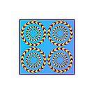 Circle optical illusion by znamenski
