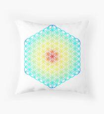 Flower Of Life Sacred Geometry Art Print Floor Pillow