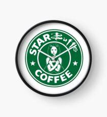 Starbuffs Coffee Clock