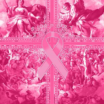 Pink Awareness Ribbon Graphic Spread by adamcampen